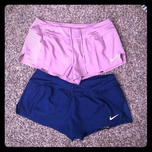 Women's large Nike drifit shorts new with tags